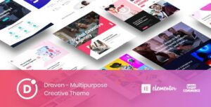 Draven – Multipurpose Creative WordPress Elementor Theme