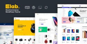 ELab – Multi Vendor Marketplace WordPress Elementor Theme