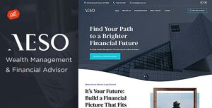 Aeso – Financial Advisor Elementor WordPress Theme