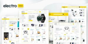 Electro – Electronics Store WooCommerce Elementor WordPress Theme