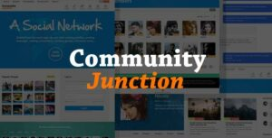 CommunityJunction – BuddyPress Membership Elementor Theme