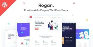 Rogan – Creative Multipurpose WordPress Elementor Theme