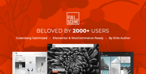 FullScene – Portfolio & Photography WordPress Theme