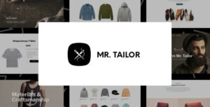 Mr. Tailor – Fashion and Clothing Online Store WooCommerce Elementor WordPress Theme