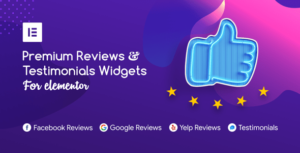 Premium Reviews & Testimonials Elementor Widgets
