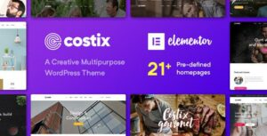 Costix – All-in-One Elementor WordPress Theme