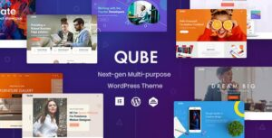 Qube – Responsive Multi-Purpose WordPress Elementor Theme