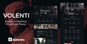 Volenti – Lawyers Elementor WordPress Theme