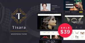 Tisara – Jewelry WooCommerce WordPress Elementor Theme