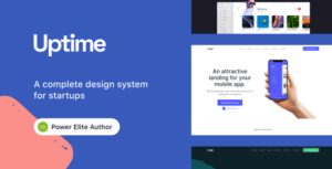 Read more about the article Uptime – Responsive Elementor WordPress Theme