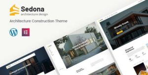Sedona – Elementor Architecture Construction WordPress Theme