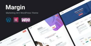 Margin – Elementor Marketing & SEO WordPress Theme