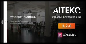 Aiteko – Creative Portfolio Ajax Elementor WordPress Theme