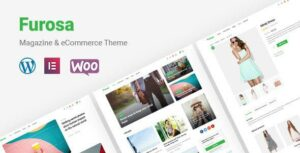 Furosa – Magazine eCommerce Elementor WordPress Theme