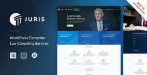 Juris – Lawyer Elementor WordPress Theme
