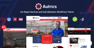 Autrics – Car Services and Auto Mechanic Elementor WordPress Theme