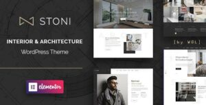 Stoni – Architecture Agency Elementor WordPress Theme