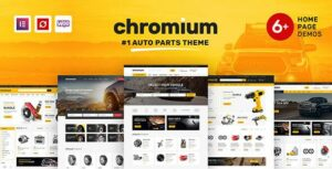 Chromium – Auto Parts Shop WordPress Elementor WooCommerce Theme