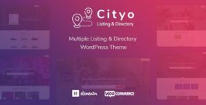 Cityo – Multiple Listing Directory WordPress Elementor Theme