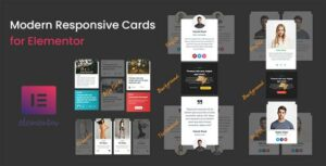 Modern – Responsive Cards for Elementor