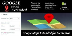 Read more about the article Google Maps Extended for Elementor