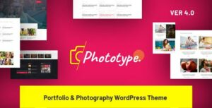Phototype – New Elementor Portoflio WordPress Theme