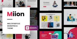 Miion – Multipurpose Elementor WordPress Theme