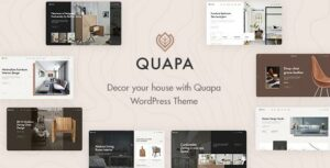 Quapa – Furniture WooCommerce Elementor WordPress Theme