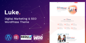 Luke – Digital Marketing and SEO Elementor WordPress Theme