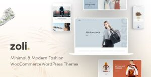 Zoli – Fashion WooCommerce Elementor WordPress Theme