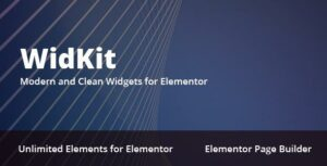 WidKit – Elementor Widgets Pack for WordPress
