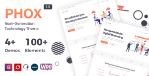 Phox – Responsive Hosting Elementor WordPress Theme