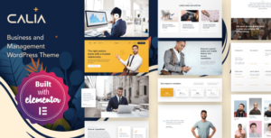 Calia – Business and Management Elementor WordPress Theme
