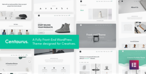 Centaurus – Creative Multi-Purpose WordPress Elementor Theme