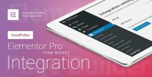 Elementor Pro Form Widget – SendPulse – Integration