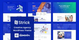 Strick – Creative Agency Elementor WordPress Theme