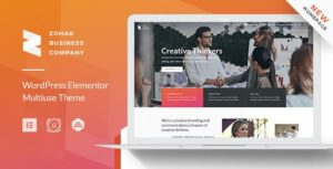 Zohar – Business Elementor WordPress Theme