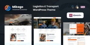 Mikago – Logistics & Transportation Elementor WordPress Theme