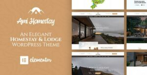 Ami Homestay – Hotel Booking Elementor WordPress Theme