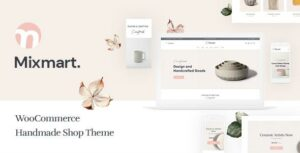Mixmart – Handmade Shop WordPress WooCommerce Elementor Theme