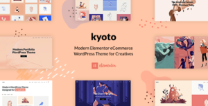 Kyoto – Innovative Portfolio Elemento WordPress Theme