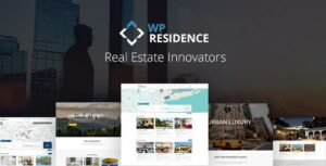 Residence – Real Estate Elementor WordPress Theme