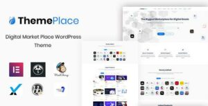 ThemePlace – Marketplace WordPress Elementor Theme