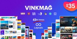 Vinkmag – Multi-concept News Magazine Elementor WordPress Theme