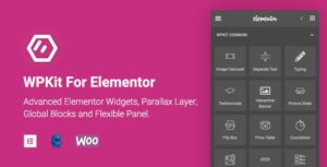 WPKit For Elementor – Advanced Widgets Collection & Parallax Layer