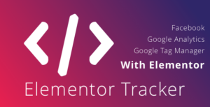 WordPress Elementor Tracker