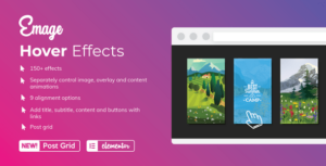 Read more about the article Emage – Image Hover Effects for Elementor