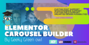 Read more about the article Elementor Post Carousel by Geeky Green Owl