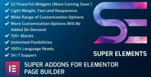 Super Elements – Addons for Elementor