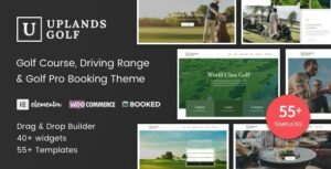 Uplands – Golf Course WordPress Elementor Theme
